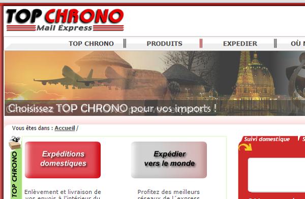 arnaque Top Chrono au Bénin
