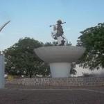 Les places publiques à Parakou