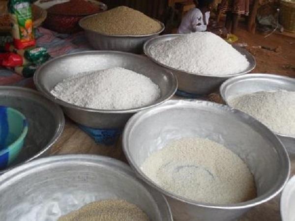 tapioca gari marché abomey