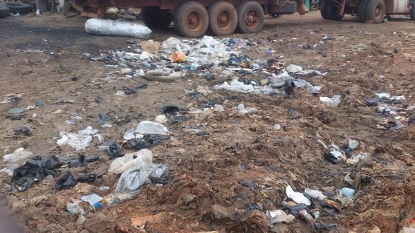ordure pollution à cotonou