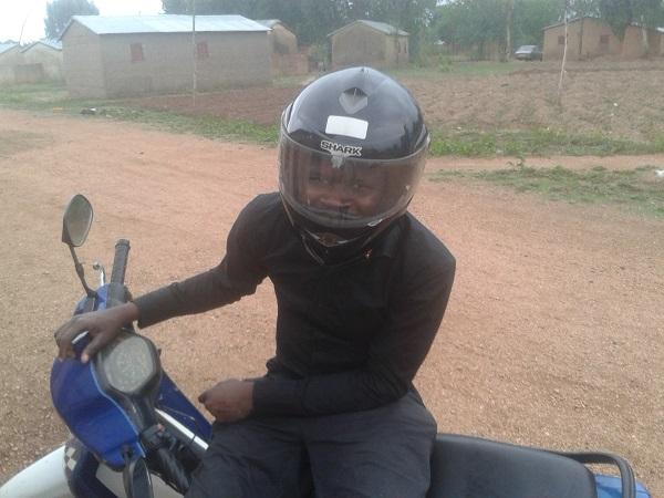 port du casque au Bénin