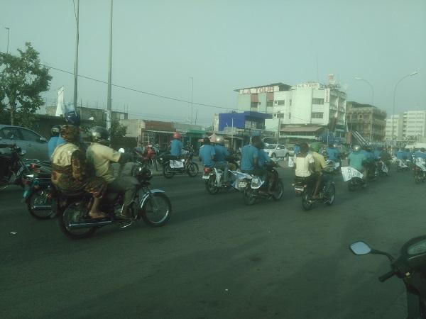 campagne période électorale au Bénin