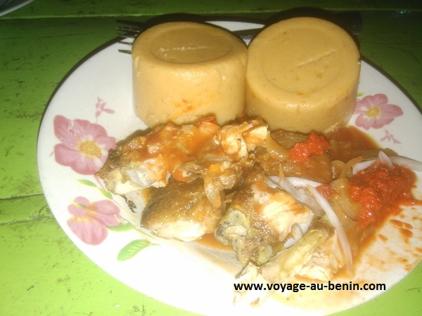 cuisine béninoise plat d'amiwo au Bénin