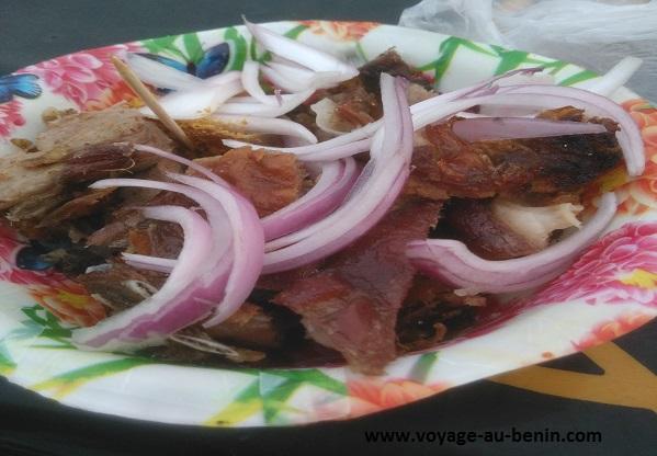 tchintchinga plat de la cuisine béninoise