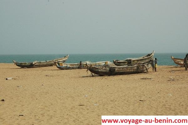 Route des pêches Ouidah Bénin